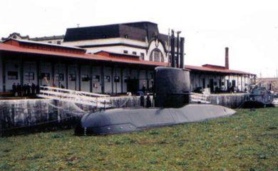 O submarino San Juan, da Armada Argentina, que está desaparecido. Divulgação: Armada Argentina