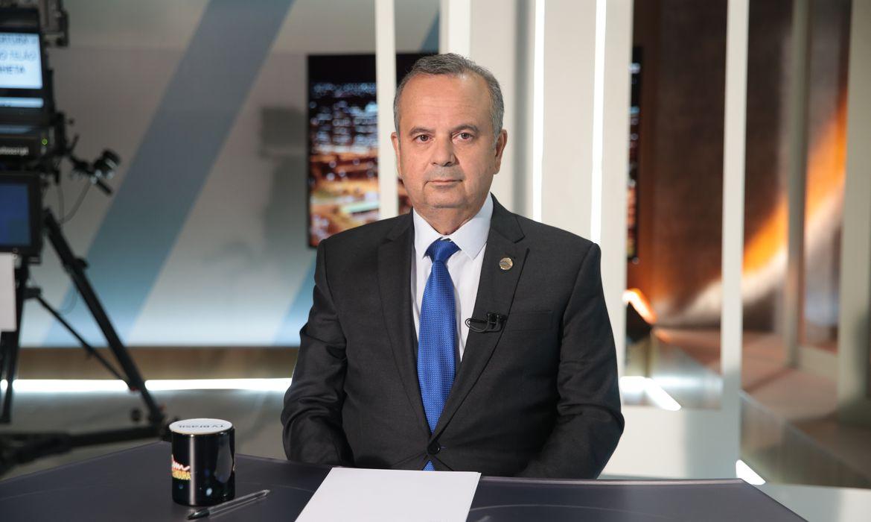 O ministro Rogerio Marinho, participa do programa Sem Censura