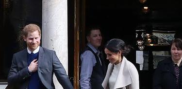 O príncipe Harry e Meghan Markle visitam Belfast em 2018