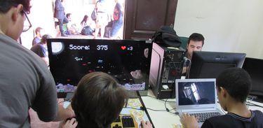 Centenas de gamers de todas as idades se reuniram no Game Fan Show realizado no IFRJ de Paulo de Frontin