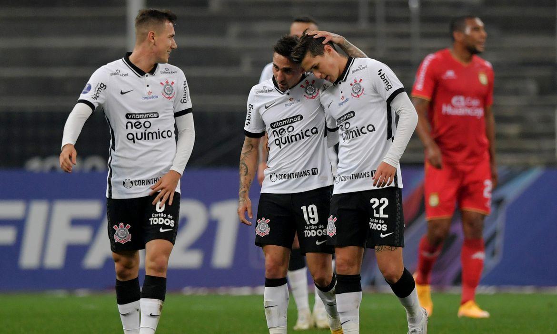 Copa Sul-Americana, Corinthians, Sport Huancayo