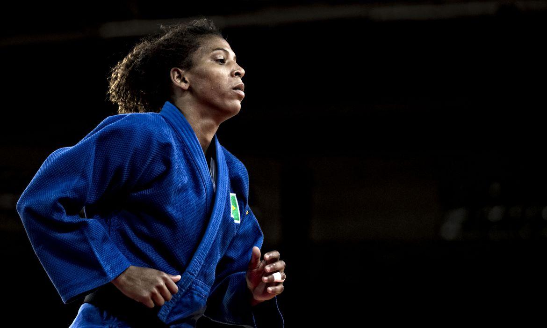 judoca Rafaela Silva durante Jogos Olímpicos, Rio 2016