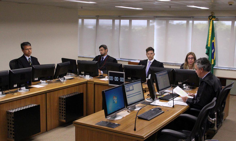 Porto Alegre - Julgamento de recurso do ex-presidente Lula na 8ª Turma do Tribunal Regional Federal da 4ª Região (Sylvio Sirangelo/TRF4)