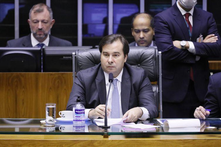 Ordem do dia para deliberação de vetos. Presidente da Câmara dos Deputados, dep. Rodrigo Maia (DEM - RJ)