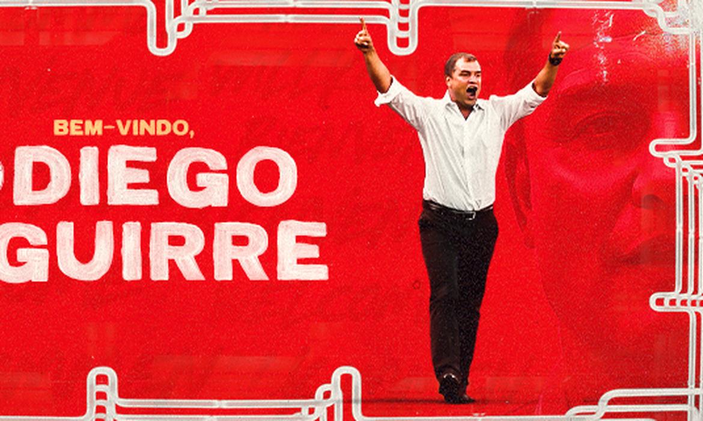 Diego Aguirre é anunciado novo técnico do Internacional em 19/06/2021