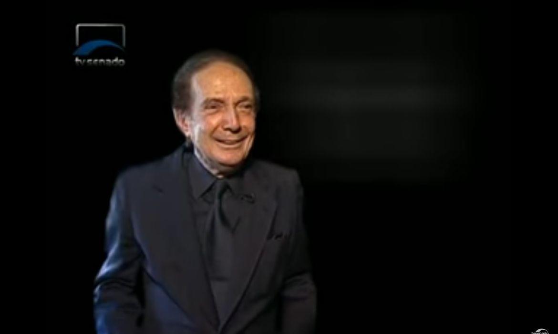 O escritor, professor ex-ministro da Educação Eduardo Portella
