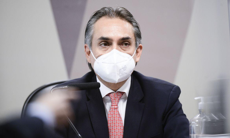 Comissão Parlamentar de Inquérito da Pandemia (CPIPANDEMIA) realiza oitiva do gerente-geral da Pfizer na América Latina. O objetivo é esclarecer relatos de que o Ministério da Saúde rejeitou, mais de uma vez, oferta de 70 milhões de doses para