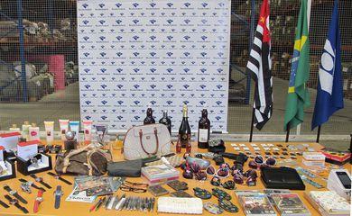 Receita Federal destrói 3.200 toneladas de produtos contrabandeados em todo o país, como parte do 14º Mutirão Nacional de Destruição, para marcar o Dia Nacional de Combate à Pirataria (Divulgação Receita Federal)