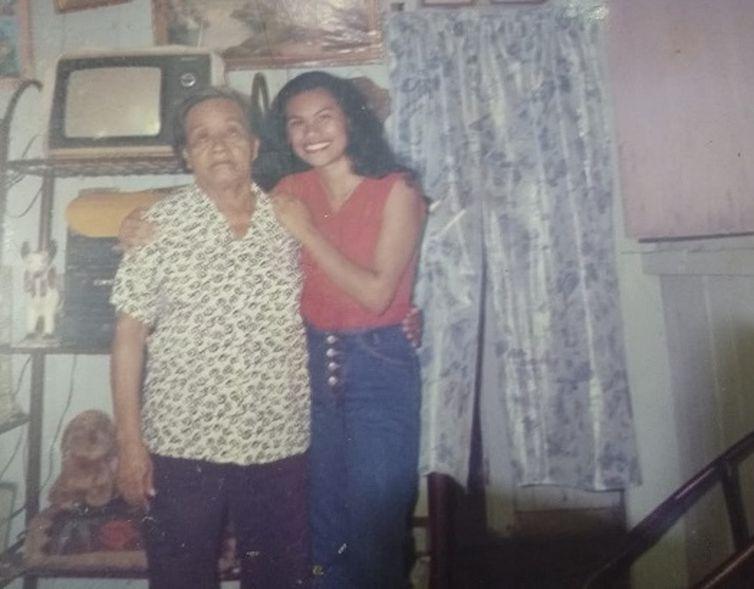 Para Márcia, a avó Assunta foi o pilar da vida