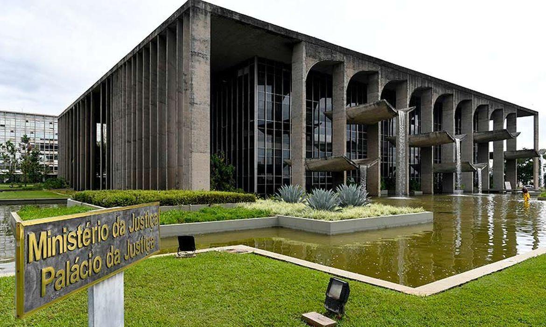 Ministério da Justiça e Segurança Pública Esplanada dos Ministérios, Palácio da Justiça, Bloco T, Edifício sede