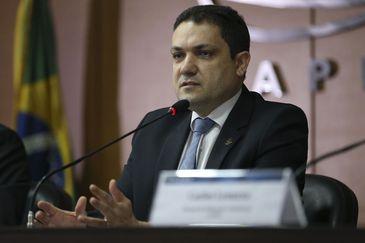 Presidente da Capes, Anderson Correia, durante lançamento dos editais do Programa Ciência é 10 (C10)