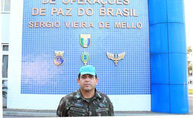 Cel Machado, comandante do CCOPAB. Autorizamos a Agência Brasil a utilizar a foto do Cmt do CCOPAB, sem ônus.  Fotógrafo:  1º Ten Tavares