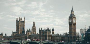 Vista da capital britânica