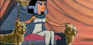 Cleópatra desafia César em uma aposta em filme de Asterix e Obelix