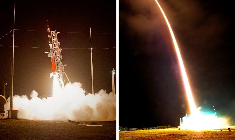 O primeiro foguete brasileiro com propulsor a etanol foi lançado em Alcântara