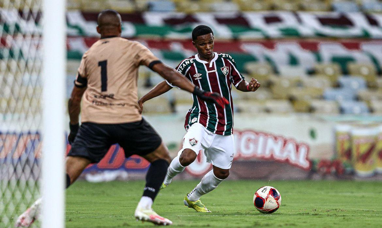 Fluminense anuncia venda de Kayky ao Manchester City, em 23/04/2021