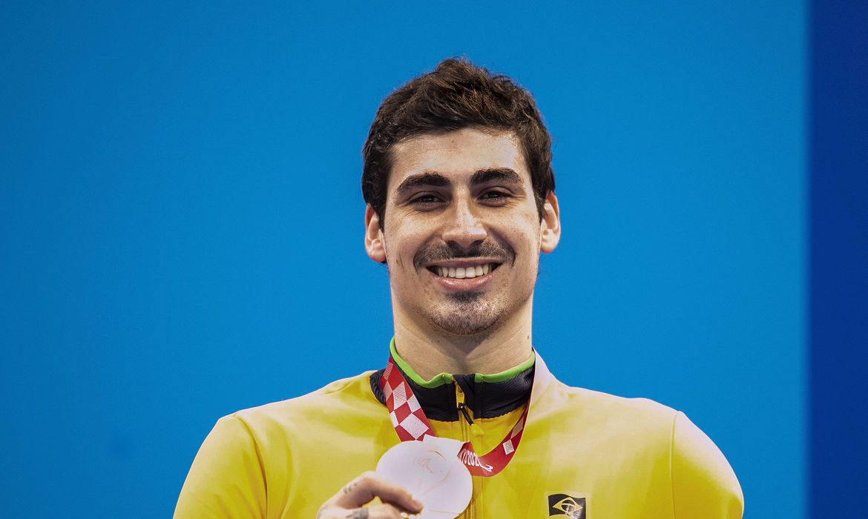 TAlisson Glock conquista bronze nos 100m livre S6 - Paralimpíada
