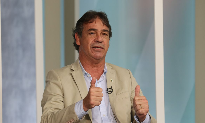 O ex-goleiro  do Fluminense, Paulo Victor, participa do programa Sem Censura,  na TV Brasil