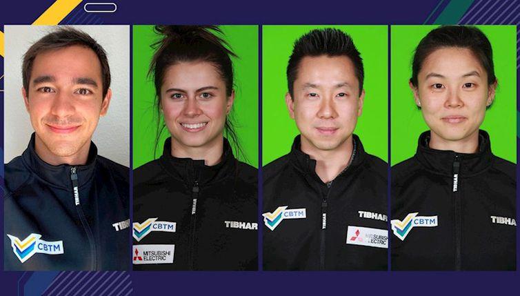 Hugo Calderano, Bruna Takahashi, Gustavo Tsuboi e Jessica Yamada - tênis de mesa - torneio individual - Olimpíada de Tóquio - seleção brasileira
