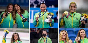 Mulheres de ouro - Olimpíadas de Tóqui 2020