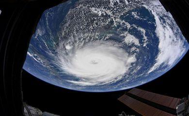 Imagem do planeta Terra capturada pela Nasa