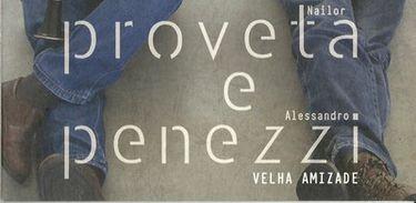 Capa de disco de Nailor Proveta e Alessandro Penezzi