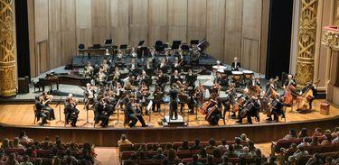 A Orquestra Sinfônica Brasileira realiza 2 concertos Theatro Municipal do Rio de Janeiro