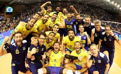 Brasil vira o jogo contra a Bulgária e está garantido em Tóquio,Seleção masculina de vôlei