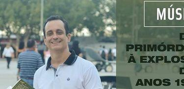 Rodrigo Faour aborda história da MPB em palestras gratuitas no Rio