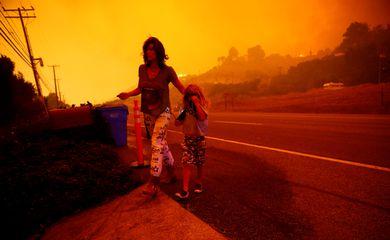Incêndio, Califórnia, Malibu