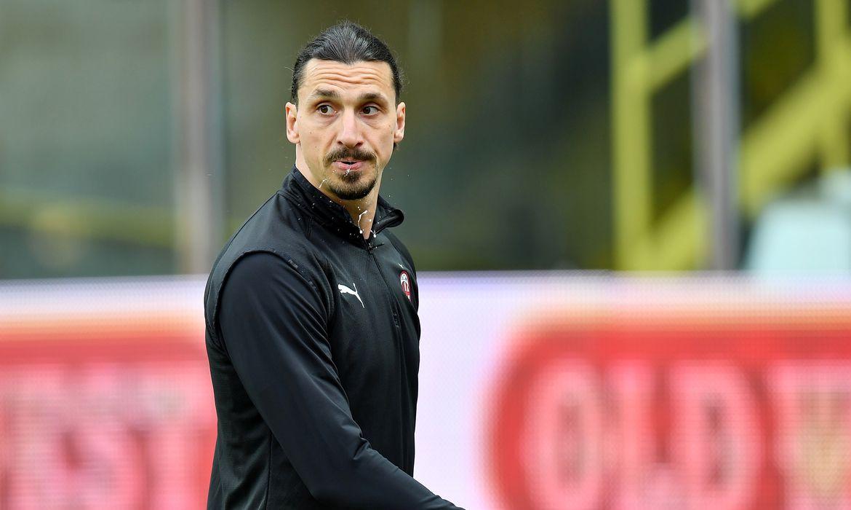 Serie A - Parma v AC Milan - Ibrahimovic