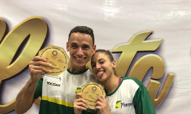 Milena Titoneli e Ícaro Miguel garantem presença em Tóquio 2020