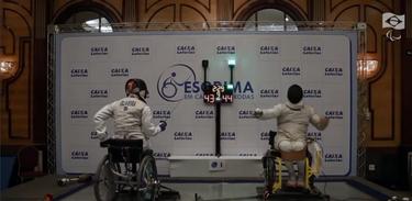 Conheça a modalidade paralímpica esportiva esgrima em cadeiras de rodas na TV Brasil Esporte