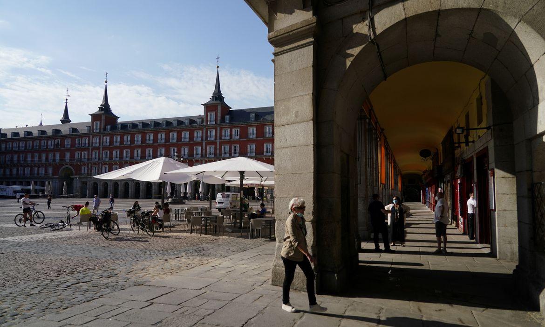 Espanha Madrid, covid 19