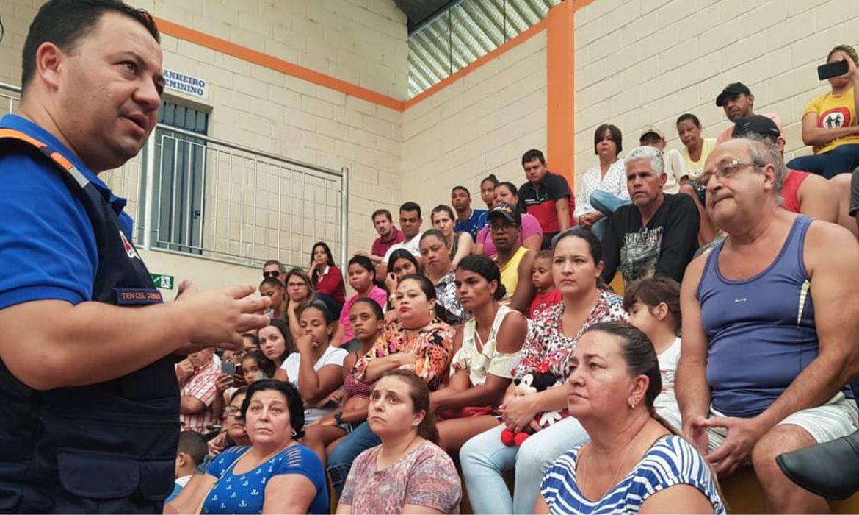 Barão de Cocais, Defesa Civil, represas