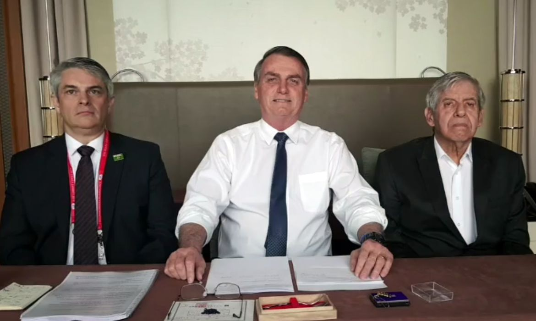 live semanal do presidente Jair Messias Bolsonaro