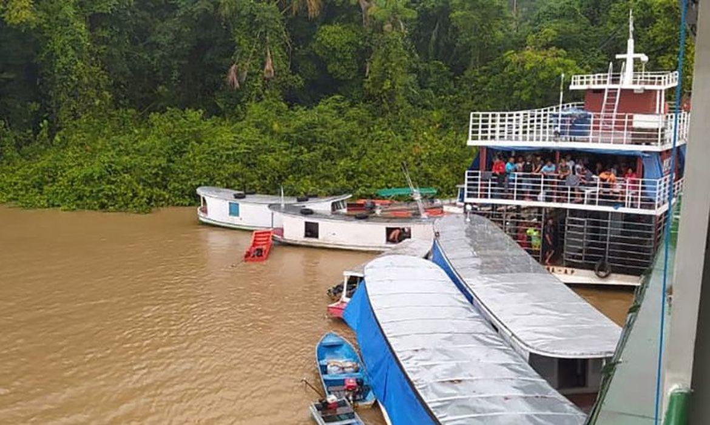 naufrágio de embarcação, naufrágio, Boca do Jari, Amapá, capitania dos portos