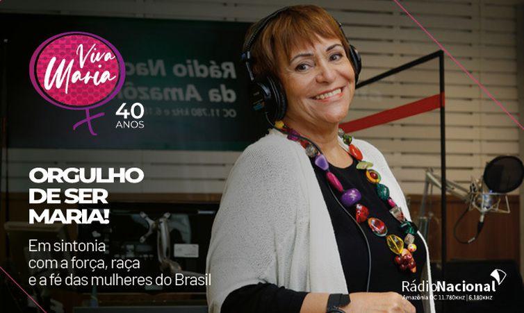 Banner Viva Maria 40 anos
