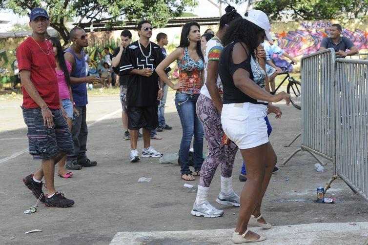 1ª Expo Hip Hop do Brasil termina neste domingo em Ceilândia (DF). A cidade foi escolhida por ser o berço dos primeiros e mais conhecidos grupos de rappers de Brasília (Elza Fiuza/Agência Brasil)