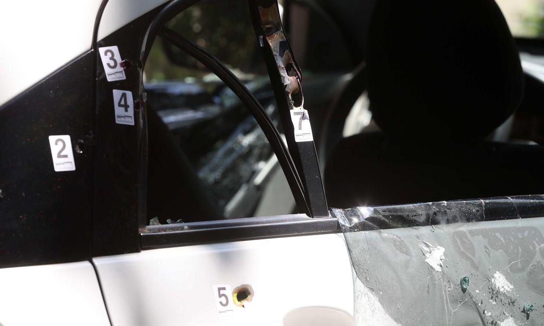 Disparos de arma de fogo no veículo onde estava a vereadora Marielle Franco