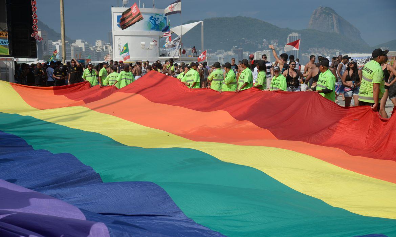 Rio de Janeiro - Copacabana recebe 21ª Parada do Orgulho LGBT que tem como tema neste ano Eu sou minha identidade de gênero (Tomaz Silva/Agência Brasil)