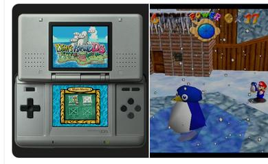 Yoshi's Island DS and Super Mario 64