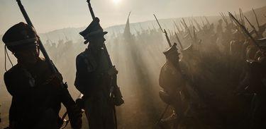 Rússia declara guerra ao exército francês de Napoleão Bonaparte
