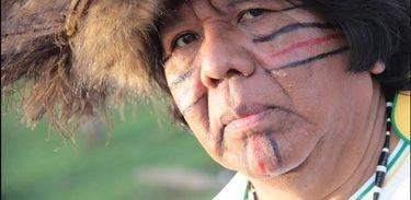 Liderança indígena Carlos Terena