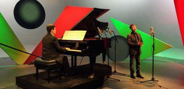 Duo Sergio Anders e Ederson Urias no Partituras