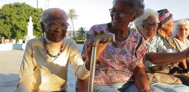 A cubana Célia Biskay tem 105 anos de vida