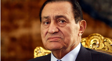 Mubarak foi afastado do poder durante o movimento conhecido como Primavera Árabe