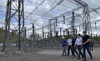 Neste domingo, o Ministro de Minas e Energia, Bento Albuquerque, realizou uma visita técnica à subestação de Laranjal do Jari, no interior do Amapá, da empresa Linhas Macapá de Transporte e Energia, a fim de acompanhar as ações de