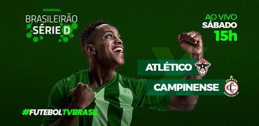 Série D Atlético x Campinense