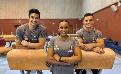 mundial de ginástica, cbg, rebeca andrade, Arthur Nory, Caio Souza